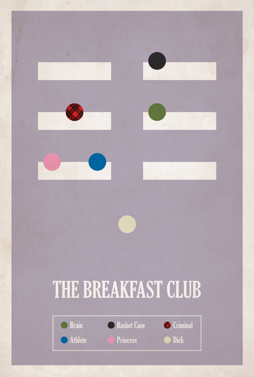 love into the light � minimalist movie posters