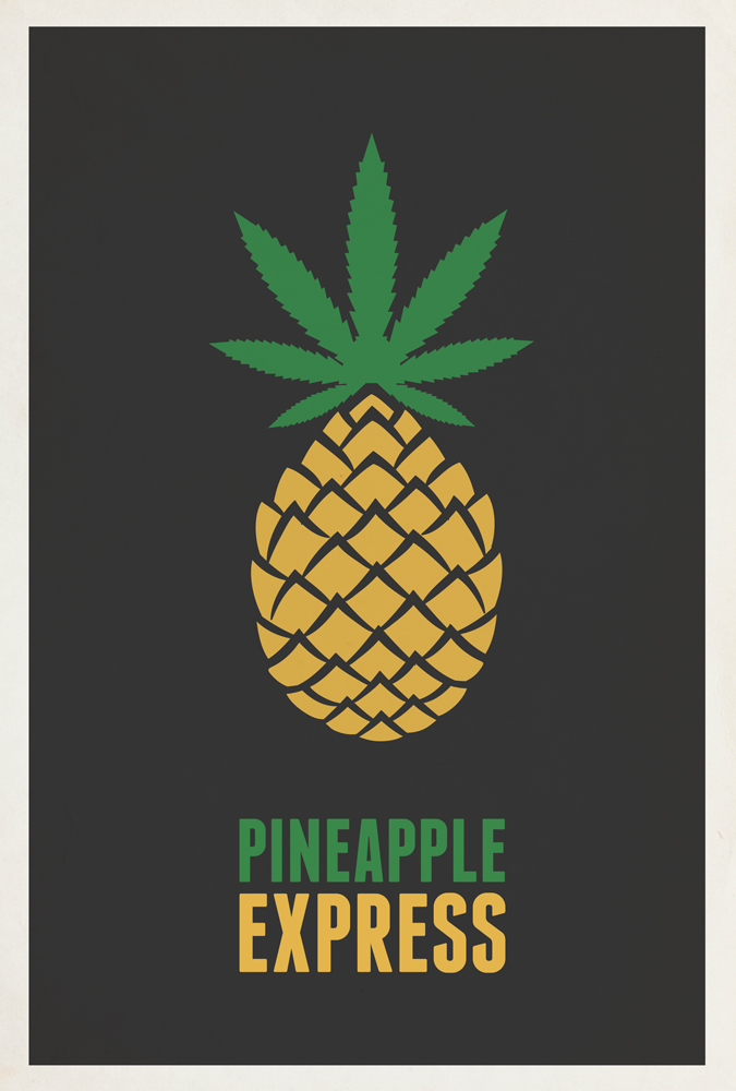 pineapple express Written by seth rogen and his writing partner evan goldberg—the duo also scripted last summer's superbad—pineapple express refers to an exclusive strain of weed that franco offers to rogen, his favorite customer and secret best friend.
